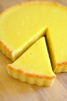 Meyer Lemon Curd Tart