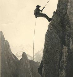 The Swiss Alps, 1951