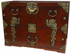 Japanese Phoenix Rising Blanket Chest by ORIENTAL FURNITURE. $589.99. Our Phoenix Rising Blanket Chest is made from solid Pine with a medium brown finish and brass accents. This piece features a solid brass rising phoenix; a symbol of elegance and a prosperous future. . Dimensions: 35W x 17D x 26H