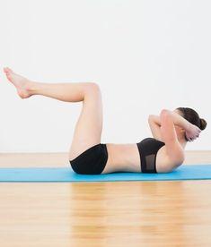 exercicios para chapar elevacao joelhos dobrados