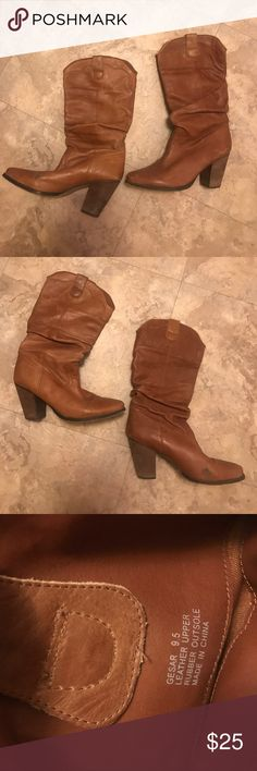 Steve Madden Gesar Cowboy Boots Great for summer and fall country concerts! Only worn a few times. Feel free to ask questions or make an offer😊 Steve Madden Shoes Heeled Boots