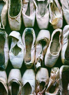 old ballet shoes
