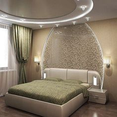 Black Friday is coming up and it's your chance to get some of these Mid-century lighting pieces at better prices! Bedroom Wall Designs, Ceiling Design Bedroom, Luxury Bedroom Design, Classic Bedroom Decor, Bedroom False Ceiling Design, Girl Bedroom Designs, Bed Designs With Storage, Luxurious Bedrooms, Remodel Bedroom