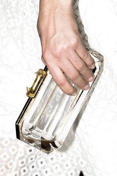 Diamond Clutch Bag @ Stella McCartney spring summer 2013 #PFW Paris #Fashion Week