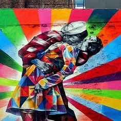 Le street-art de Eduardo Kobra !