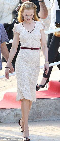 Gorgeous dress, Ms Kidman, well done.