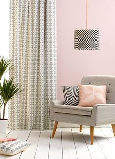 Majestic 101 Pink And Grey Office Design Ideas https://decoratio.co/2017/05/22/101-pink-grey-office-design-ideas/ It's possible that you already have a metallic chair in your home that will do the job. It's unquestionably a statement chair for certain, but this's just what I was going for.
