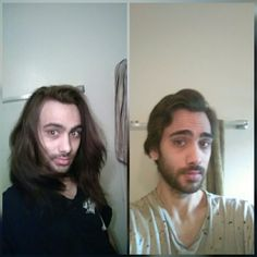Just cut my hair myself. Everyone is saying it looks good but i don't think so. What do you all the think?