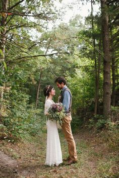 Rustic Woodsy Wedding