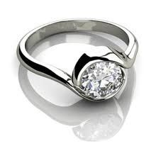 Georgeous Custom Made Engagement Rings with Gothic Theme