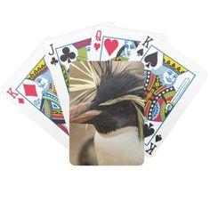Rockhopper Penguin  Deck of Cards