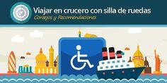 Viajar en crucero en silla de ruedas o problemas de movilidad