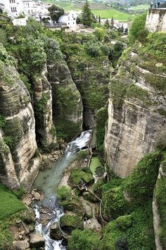 The Vale (Ronda, Spain)