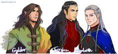 Galdor, Turgon, Egelmoth