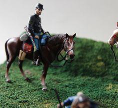 騎乗北軍騎兵見本