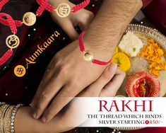 A Small thread has more power then everything..! That is Known as #Rakhi Wish you Happy #Raksha_Bandhan