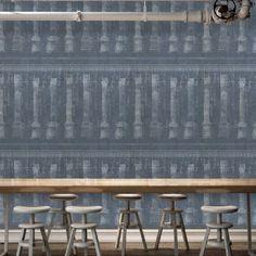 Designer Wallpaper | Mind the Gap Wallpaper | Floral Wallpaper | Modern Wallpaper