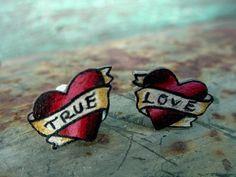 Tattoo Heart Studs (http://www.etsy.com/listing/62724806/tattoo-heart-ear-studs-posts-tiny-true?ref=tre-320442-2)