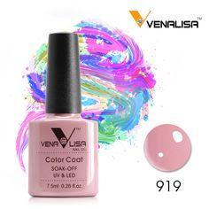#61508 Venalisa 새로운 브랜드 100% 젤 폴란드어 자외선 LED UV 젤 네일 폴란드어
