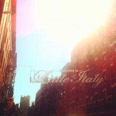 #littleitaly #nyc #manhattan #ny #type #welcome
