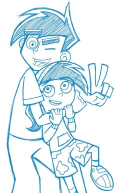 Brother sister love It was confirmed that Butch Hartman was going to make the siblings if she lived longer