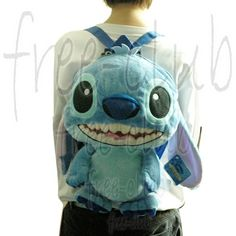 "Disney LILO & STITCH Plush Toy Youth Backpack Bag 13""  i need this!!!!!  $30.00"
