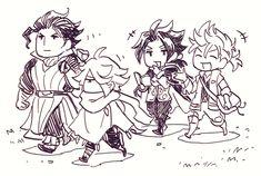 Bravely Default, Octopath Traveler, Fire Emblem, Video Games, Fan Art, Adventure, Drawings, Nintendo, Anime