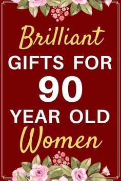 Gifts for 90 Year Old Woman: Best Birthday & Christmas Gift Ideas 90th Birthday Decorations, 90th Birthday Invitations, Birthday Coffee, 90th Birthday Parties, Birthday Book, Grandma Birthday, Birthday Candy, Birthday Woman, Birthday Gifts For Women