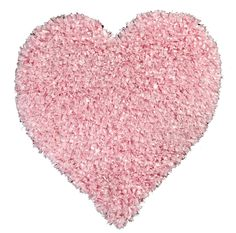 Shag Heart Rug in Pink by Dynamic Rugs - RosenberryRooms.com