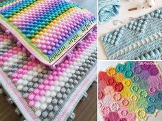 Today's article is all about yummy popcorn stitch, so grab your favorite snacks and relax with me :) This stitch is often mixed with others Bobble Stitch Crochet, Single Crochet Stitch, Crochet Stitches, Crochet Afghans, Crochet Wall Hangings, Crochet Hooks, Crochet Designs, Crochet Patterns, Crochet Tutorials