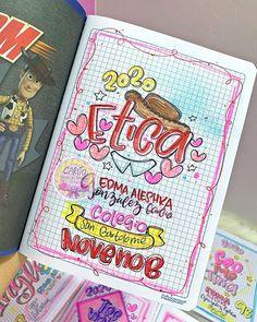 Lettering Tutorial, Hand Lettering, School Notes, Aesthetic Girl, Bullet Journal, Study, Kawaii, Instagram, Diy