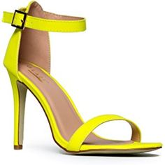 Womens Ankle Strap High Heel - Dress Wedding Party Sandal - Basic Pump Low Heel Marvel by J. Adams