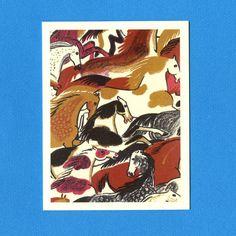 WILD WILD HORSES  Earth Tones  Blank Greeting Card by seasandpeas, $3.75