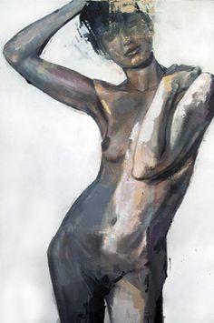 """Saatchi Online Artist Benjamin Garcia; Painting, """"Nude 2"""" #art"""