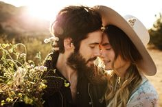 Engagement Photography Officially Quigley Engagement // sweet engagement photos at vasquez rocks in the wildflowers at golden hour - % Couple Photography, Engagement Photography, Engagement Session, Wedding Photography, Photography Tools, Photography Backdrops, Photography Business, Photo Couple, Couple Shoot
