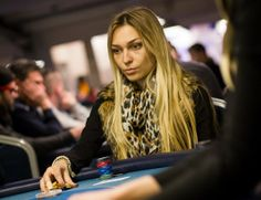 Poker Lady: Sonja Kovac (Hungary) at GCOP Grand Final at King's Casino.
