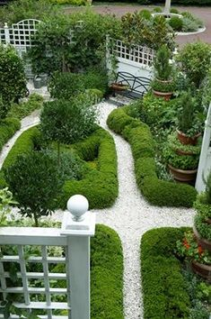 Well planned landscaping