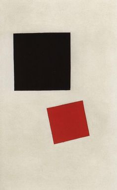 Black Square and Red Square by @artistmalevich