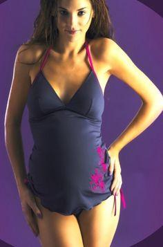 Maillots de bain grossesse - Maillot 2 pièces de grossesse  http://www.mammafashion.com/vetement-maillots_de_bain_grossesse-femme-enceinte-moorea-1749.php
