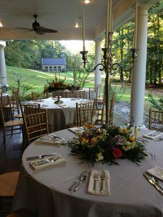 Classic Southern Wedding Reception
