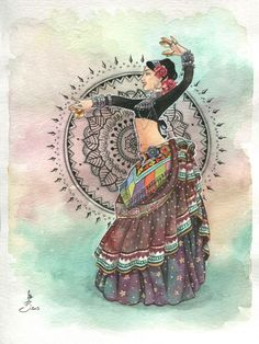 Ideas Belly Dancing Drawing Dancers For 2019 Tribal Fusion, Dancing Drawings, Art Drawings, Estilo Tribal, Dance Paintings, Art Articles, Tribal Belly Dance, Arte Pop, Belly Dancers