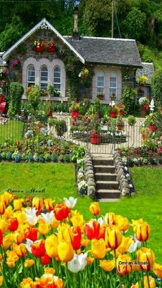 Solve Beautiful homes jigsaw puzzle online with 28 pieces Solve Beautiful homes jigsaw puzzle online with 28 pieces Beautiful Flowers Garden, Beautiful Gardens, Beautiful Homes, Beautiful Places, Garden Cottage, Cottage Homes, Home And Garden, Cute Cottage, Cottage Style