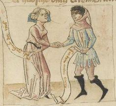 Sammelhandschrift  - Thomasin <Circlaere> (1186 - 1216)  Boner, Ulrich (1280 - 1350)  Heinrich <der Teichner> (1310 - 1377)  Freidank ( - 1233)  Nordbayern (Raum Eichstätt?)Erscheinungsdatumum 1445 (I) / um 1460 (II) / um 1450 (III)  Mscr.Dresd.M.67  Folio 6v