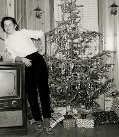 Vintage Christmas, 1950s style