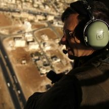 Mideast Jordan Aerial Archaeology