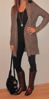 Image result for jeans and long cardigan