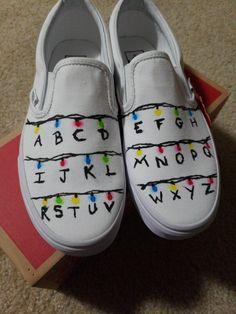 Customised Vans, Custom Vans Shoes, Custom Painted Shoes, Painted Vans, Sharpie Shoes, Vans Shoes Fashion, Shoe Painting, Cute Vans, Champion Shoes