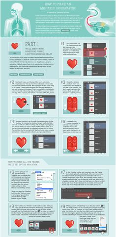 How to Make an Animated #infographic #Gif #Design #Photoshop