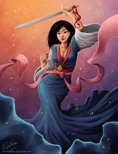 Mulan by daniellesylvan.deviantart.com on @deviantART