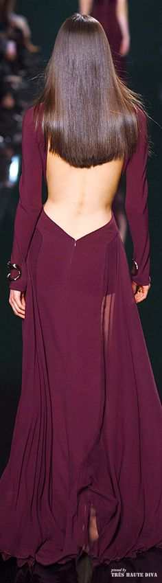#Paris Fashion Week Elie Saab Fall/Winter 2014 RTW--Wow !! Sleek and sexy details